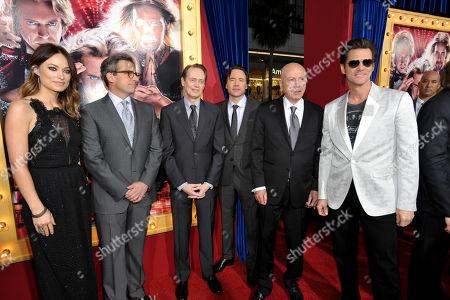 Editorial photo of LA Premiere of The Incredible Burt Wonderstone - Red Carpet, Los Angeles, USA - 11 Mar 2013