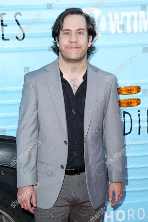 """Ely Henry arrives at the Season One Premiere of """"Roadies"""" at The Theatre at Ace Hotel, in Los Angeles"""
