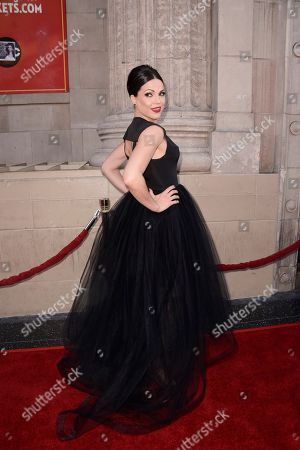 """Stock Photo of Actress Lanna Parrilla attends a special screening of the season four premiere of the ABC television series """"Once Upon a Time"""" at the El Capitan Theatre on in Los Angeles"""