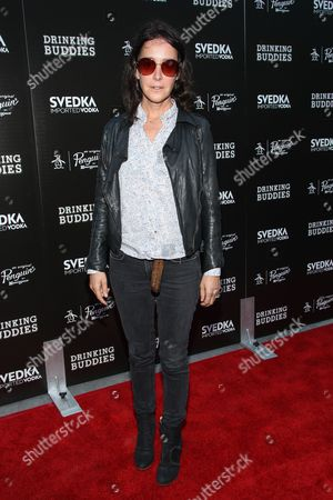 "Actress Jane Adams arrives at the special screening of ""Drinking Buddies"" at the ArcLight Hollywood on in Los Angeles"
