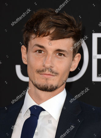 """Giles Matthey arrives at the special screening of """"Jobs"""" at the Regal Cinemas L.A. Live, in Los Angeles"""