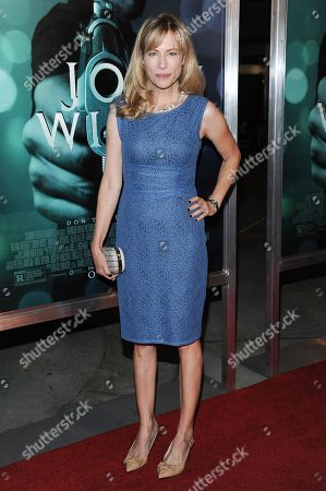 "Cathryn de Prume arrives at the LA Special Screening Of ""John Wick"", in Los Angeles"