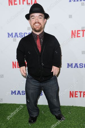 """Brad Williams attends a special screening of """"Mascots"""" held at the Linwood Dunn Theater, in Los Angeles"""