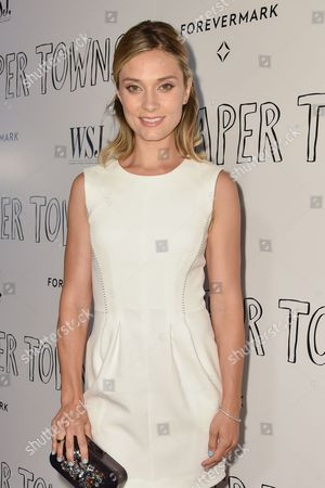 """Spencer Grammer arrives at the special screening of """"Paper Towns"""" held at The London Hotel, in West Hollywood, Calif"""