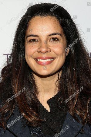 "Zuleikha Robinson attends the LA Special Screening of ""Tumbledown"" held at Aero Theater, in Santa Monica, Calif"