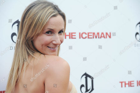 "Sarah Farooqui arrives at the LA Special Screening of ""The Iceman"" at the ArcLight Hollywood Theater on in Hollywood, Calif"
