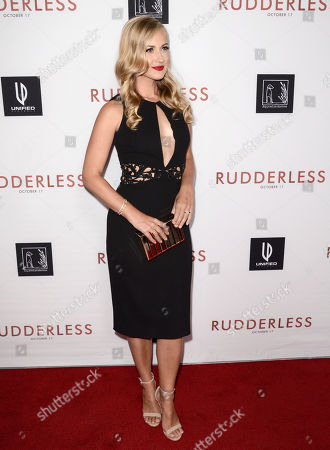 """Alex Wehrley arrives at the Los Angeles VIP screening of """"Rudderless"""" at The Vista Theater on"""