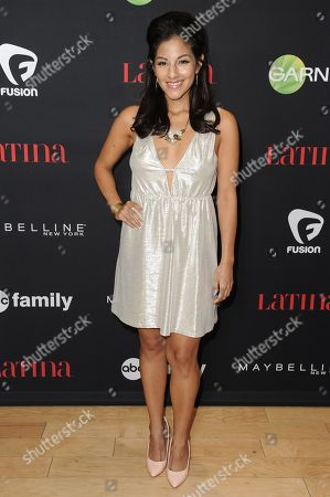 "Tracy Perez arrives at LATINA Magazine's ""30 Under 30"" Party, in West Hollywood, Calif"