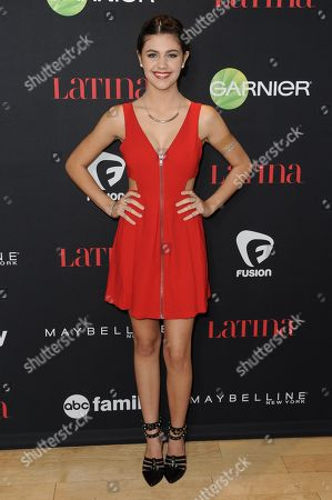 """Amber Montana arrives at LATINA Magazine's """"30 Under 30"""" Party, in West Hollywood, Calif"""