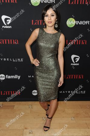 "Ashley Campuzano arrives at LATINA Magazine's ""30 Under 30"" Party, in West Hollywood, Calif"