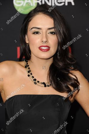 "Vannessa Vasquez arrives at LATINA Magazine's ""30 Under 30"" Party, in West Hollywood, Calif"