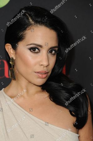 """Stock Image of Mirtha Michelle arrives at LATINA Magazine's """"30 Under 30"""" Party, in West Hollywood, Calif"""