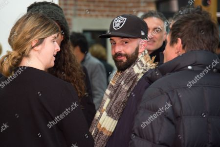 Piero Golia attends the LAXART Opening at 7000 Santa Monica Blvd., in Los Angeles