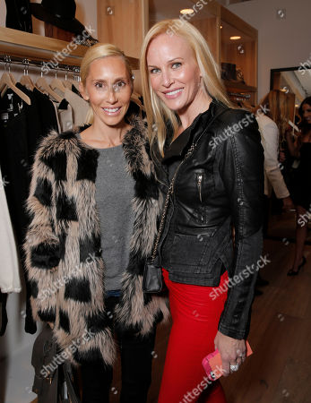 Stock Photo of Alexandra Von Furstenberg and Normandie Keith attend Lea Michele's night of shopping and cocktails at Switch Boutique presented by SodaStream with proceeds going to Chrysalis at Switch Boutique on in Los Angeles