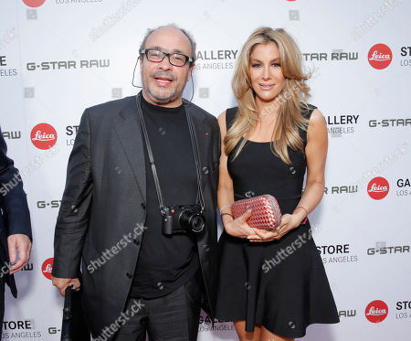 Leica Deputy Chairmain of the Supervisory Board Dr. Andreas Kaufmann and guest attend the Leica Los Angeles Grand Opening, on Thursday, June, 20, 2013 in West Hollywood, California