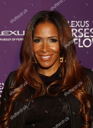 Reality star Sheree Whitfield arrives at Lexus Presents: Verses and Flow Season 3 with Jill Scott tapped at The Belasco Theatre on in Los Angeles, California. (Photo by Arnold Turner/Invision/AP