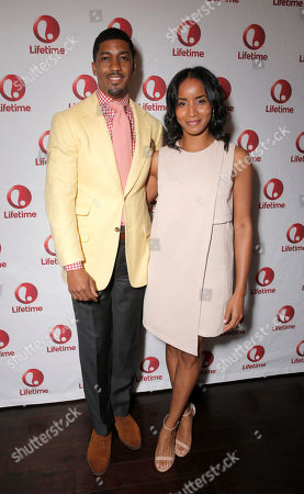 Fonzworth Bentley and Faune Chambers attend Lifetime's Celebration of Kosher Soul, in Los Angeles