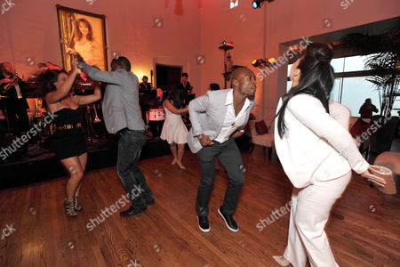 Stock Image of Wole Parks and guests attend Lifetime's Devious Maids Premiere Party, on in Pacific Palisades, Calif