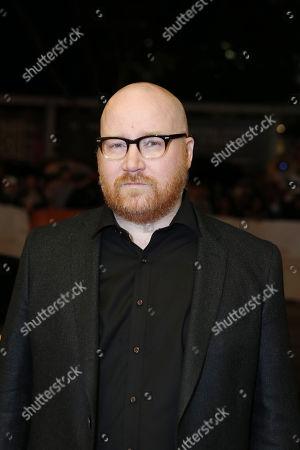 Composer Johann Johannsson seen at Lionsgate 'Sicario' Premiere at the 2015 Toronto International Film Festival, in Toronto, CAN