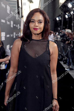 """Sharon Leal seen at Lionsgate Los Angeles Special Screening of """"American Pastoral"""" at Samuel Goldwyn Theater, in Beverly Hills, CA"""
