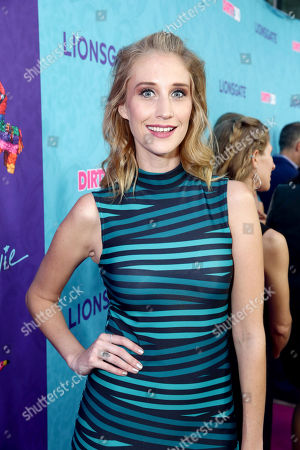 """Maude Garrett seen at Lionsgate Premiere of """"Dirty 30"""" at ArcLight Cinemas, in Los Angeles"""