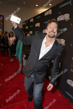 """Tom Mabe seen at Lionsgate Los Angeles Premiere of """"Natural Born Pranksters"""" at Regal L.A. LIVE, in Los Angeles"""