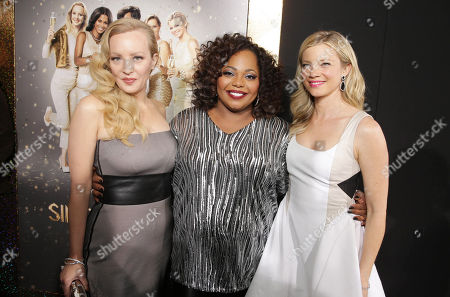 Wendi McLendon-Covey, Cocoa Brown and Amy Smart seen at The World Premiere of TYLER PERRY'S 'The Single Moms Club' presented by Lionsgate on in Los Angeles