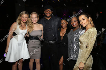Amy Smart, Wendi McLendon-Covey, Director/Writer Tyler Perry, Nia Long, Cocoa Brown and Zulay Henao seen at The World Premiere of TYLER PERRY'S 'The Single Moms Club' presented by Lionsgate on in Los Angeles