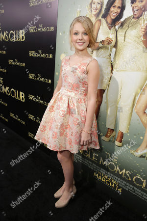 Cassie Brennan seen at The World Premiere of TYLER PERRY'S 'The Single Moms Club' presented by Lionsgate on in Los Angeles