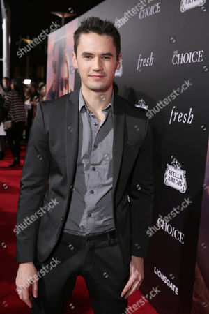 Monty Geer seen at Lionsgate's Los Angeles Special Screening of 'The Choice' at Arclight Hollywood, in Hollywood, CA