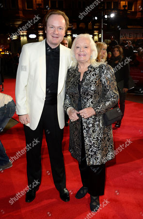 Dame Gwyneth Jones poses at London Film Festival American Airlines Gala -Quartet at Odeon West End on in London