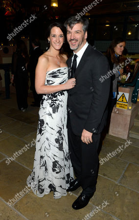 Allison Abbate poses at London Film Festival Opening Gala Frankenweenie After Party at Tobacco Dock on in London