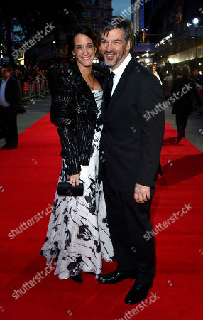Allison Abbate poses at London Film Festival Opening Gala Frankenweenie at Odeon West End on in London