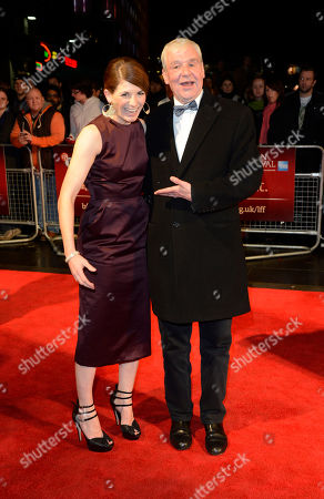 Jodie Whittaker, Terri Hooley poses at London Film Festival The Mayfair Hotel Gala - Good Vibrations at Odeon West End on in London
