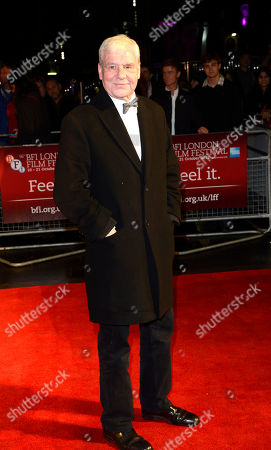 Stock Photo of Terri Hooley poses at London Film Festival The Mayfair Hotel Gala - Good Vibrations at Odeon West End on in London