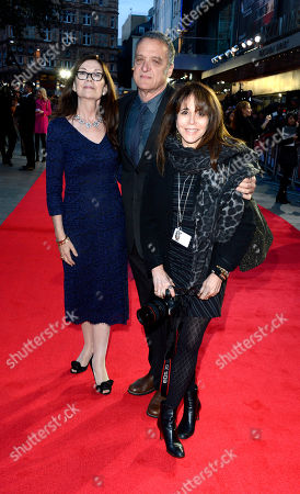 Victoria Pearman poses at London Film Festival American Express Gala The Rolling Stones - Crossfire Hurricane at Odeon West End on in London