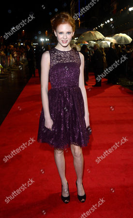 Editorial picture of London Film Festival Awards 2012 - Closing Night Gala - Great Ex, LONDON, United Kingdom - 21 Oct 2012