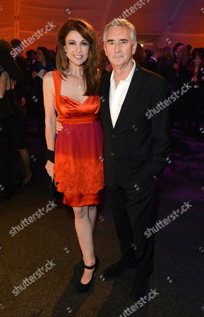 Sheila Gish, Denis Lawson pose at London Film Festival Awards 2012 Closing Night Gala - Great Expectations After Party at Battersea Power Station on in London