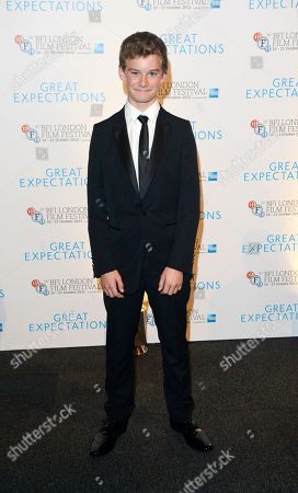 Toby Irvine poses at London Film Festival Awards 2012 Closing Night Gala - Great Expectations After Party at Battersea Power Station on in London