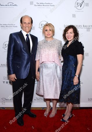 Michael Milken, Ghada Irani, and Lori Milken arrive at the Los Angeles Ballet Gala - Arrivals held at the Beverly Wilshire Hotel, in Beverly Hills, California