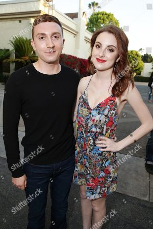 """Daryl Sabara and Juliette Goglia seen at the Los Angeles premiere of Hulu and Paramount Digital Entertainment's """"Resident Advisors"""" at Paramount Studios, in Hollywood, CA"""