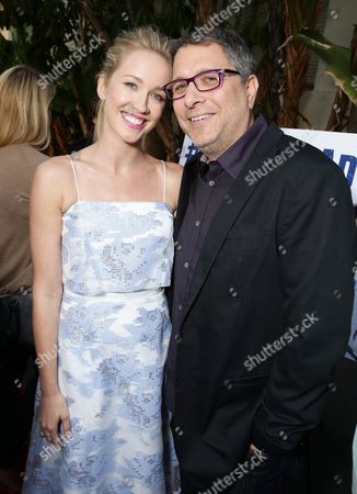 """Stock Photo of Anna Camp and Director Ira Ungerleider seen at the Los Angeles premiere of Hulu and Paramount Digital Entertainment's """"Resident Advisors"""" at Paramount Studios, in Hollywood, CA"""