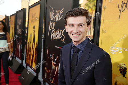 Alex Shaffer seen at Los Angeles Premiere of Warner Bros. â?˜We Are Your Friends' at TCL Chinese Theatre, in Hollywood, CA