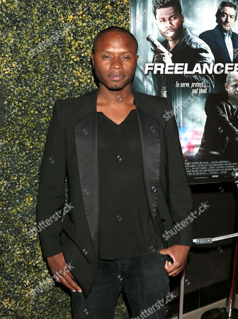 """Malcolm Goodwin attends the Los Angeles Screening of """"Freelancers"""" at the Chinese Mann 6, in Los Angeles, Ca"""