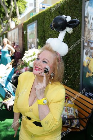 "Carol Connors seen at Los Angeles Special Screening of Lionsgate's ""Shaun the Sheep Movie"" at Regency Village Theatre on Saturday, August 01, [2015, in Westwood, CA"