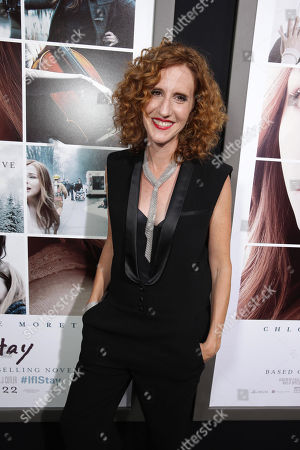 Author Gayle Forman seen at the Los Angeles World Premiere of New Line Cinema's and Metro-Goldwyn-Mayer Pictures' 'If I Stay' held at TCL Chinese Theatre, in Hollywood