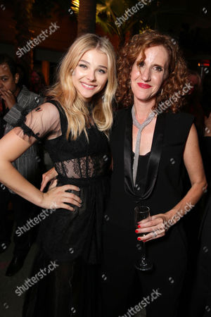 Chloe Grace Moretz and Author Gayle Forman seen at the Los Angeles World Premiere of New Line Cinema's and Metro-Goldwyn-Mayer Pictures' 'If I Stay' held at TCL Chinese Theatre, in Hollywood