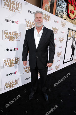 """Kevin Nash seen at the Los Angeles World Premiere of Warner Bros. Pictures' """"Magic Mike XXL"""", in Los Angeles"""