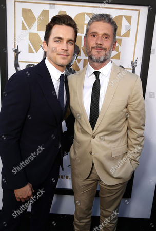 "Matt Bomer and Writer/Director Gregory Jacobs seen at the Los Angeles World Premiere of Warner Bros. Pictures' ""Magic Mike XXL"", in Los Angeles"