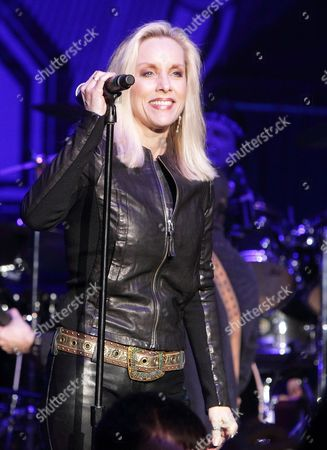 Cherie Currie performs in concert during the M3 Rock Fest at Merriweather Post Pavilion, in Columbia, Md